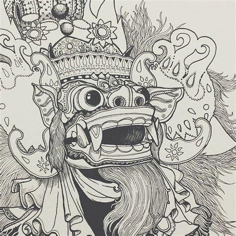 Tattoo Artist Ubud Bali In 2020 Mask Drawing Indonesian Art Art