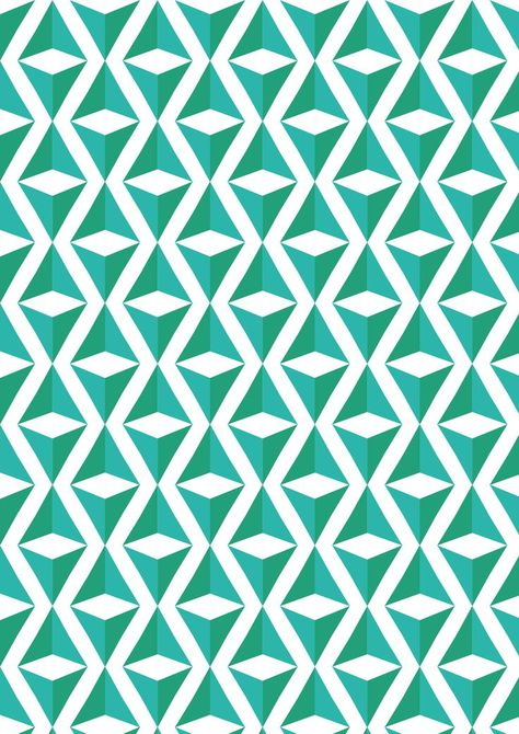 Graphic Design - Pattern Design - Green and blue repeating triangle square illusion pattern Pattern Design : – Picture : – Description Green and blue repeating triangle square illusion pattern -Read More –