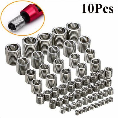 Details About Steel Useful Durable Helicoil Fastener Accessories Repair Tool Threaded Insert In 2020 Metal Working Tools Stainless Steel Fasteners