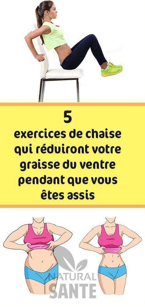Vente de liquidation 2019 super pas cher super populaire 5 exercices de chaise qui réduiront votre graisse du ventre ...