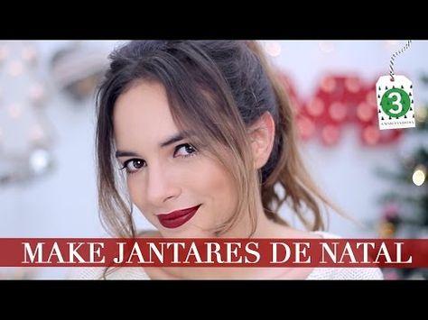 Maquilhagem Fácil Para Jantares de Natal | A Maria Vaidosa - YouTube
