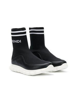 sock-style sneakers   Fendi kids