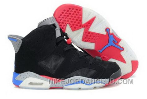 http://www.nikejordanclub.com/cheap-air-jordan-6-vi-retro-mens-shoes-mesh-breathable-black-blue-red-on-sale.html CHEAP AIR JORDAN 6 VI RETRO MENS SHOES MESH BREATHABLE BLACK BLUE RED ON SALE Only $94.00 , Free Shipping!