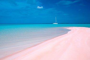 Plage de sable rose - Rangiroa