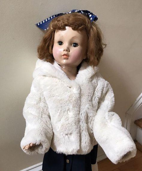 8e7fbd8a5c5c Baby Gap Girls 18-24 Months Faux Fur Coat Teddy Bear Ears Hooded ...