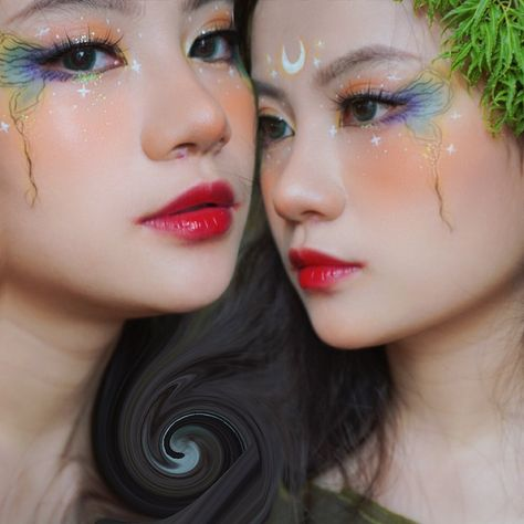 "I'M TTAP ! on Instagram: ""Anh phuong va vuong ngu yen :)) #makeupbyme"""