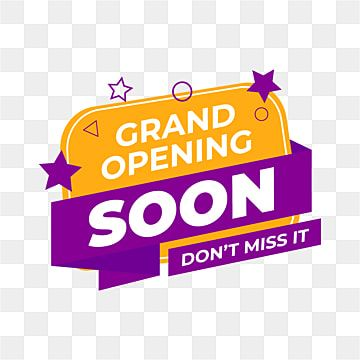 Design Of The Grand Opening Banner Element In Liquid Form Opening Grand Open Png And Vector With Transparent Background For Free Download Grand Opening Banner Grand Opening Banner