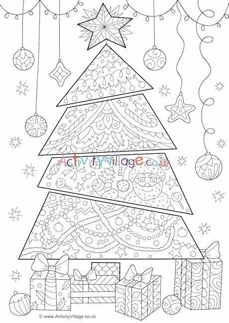 Weihnachtsbaum Gekritzel Malvorlagen Jul Jobbet Desenler Gorsel Sanatlar Kelebekler