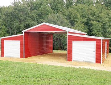48x36 Step Down Roof Barn Metal Barn Central Barns Sheds Shed Shed Plans