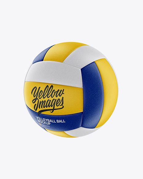 Download Volleyball Ball Mockup Half Sideview Download Volleyball Mockup Mockup Free Psd Free Psd Mockups Templates