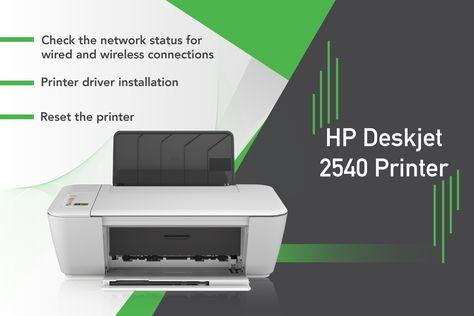 HP Deskjet 2540 Driver Download and Install | Printer, User