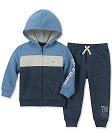paras lenkkarit halpaa kengät halvalla Tommy Hilfiger Baby Boys' 2-Pc. Hoodie & Pants Set ...