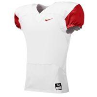 59dd53b893f9 Nike Team Stock Mach Speed Jersey - Men s - White   Red