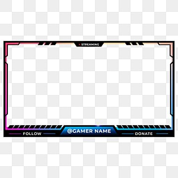 Screen Twitch Overlay Black Gradient Purple Blue Yellow Design Twitch Interface Png Transparent Clipart Image And Psd File For Free Download Overlays Twitch Blue And Purple