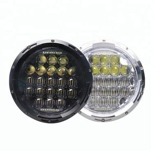 Source Factory Direct 5d 75 W 7 Inch 12 V Round Led Headlight For Jeep 7inch Headlight 5d Lens On M Alibaba Com How To Make Light Lighting Logo Led Work Light