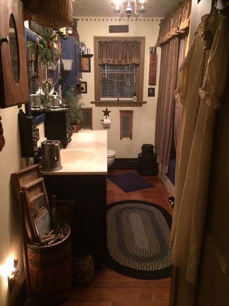 100 Primitive Bathrooms Ideas In 2021 Primitive Bathrooms Primitive Bathroom Primitive Decorating Country