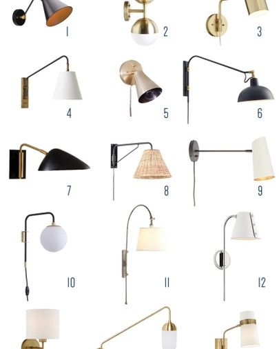 Love Plug In Sconces Here S A Roundup Of 15 Of My Favorites That Fall Into The Modern Mid C Online Interior Design Modern Sconce Bedroom Wall Sconces Bedroom