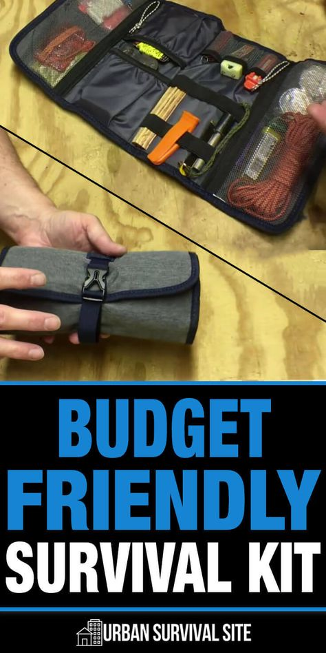 A popular new trend in the prepper community is using gadget pouches and tool rolls to make survival kits and bug out bags. Rather than digging through a bag and struggling to find what you're looking for, you can unroll the pouch or roll and see everythi Survival Life, Survival Tools, Wilderness Survival, Survival Prepping, Urban Survival Kit, Survival Stuff, Survival Gadgets, Survival Items, Tactical Survival