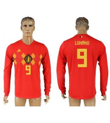 Belgien Romelu Lukaku 9 Heimtrikot Wm 2018 Herren Langarm Mit Bildern Trikot Belgien Eden Hazard