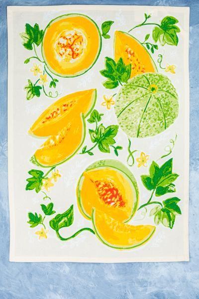 75 Off Cantaloupe Tea Towel In 2020 Tea Towels Cantaloupe Fresh Produce Is cantaloupe good for you? pinterest