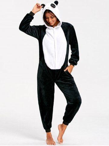 5e8d808659e9b Adult Cute Panda Animal Onesie Pajamas | Wishes | Onesie pajamas ...