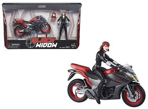 Marvel Legends Black Widow Motorcycle 6 Inch Action Figure Toy Birthday Gift New Hasbro Ebay