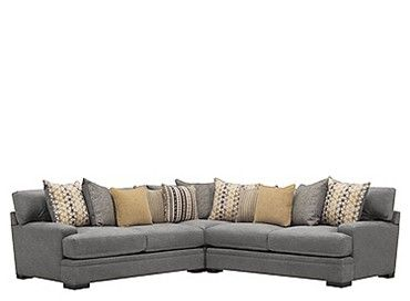 Shop Daine 3 Pc Sectional Sofa And More With Images Furniture