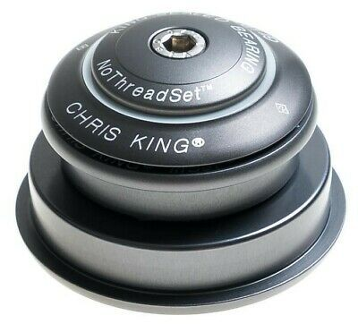 ZS56 Taper i2 10 Year Warranty Chris King InSet 2 Headset Pewter ZS44