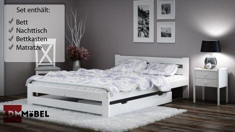 Beautiful SCHLAFZIMMER SETS ZUR AUSWAHL:   Bett+Matratze   Bett+Bettkasten   Bett