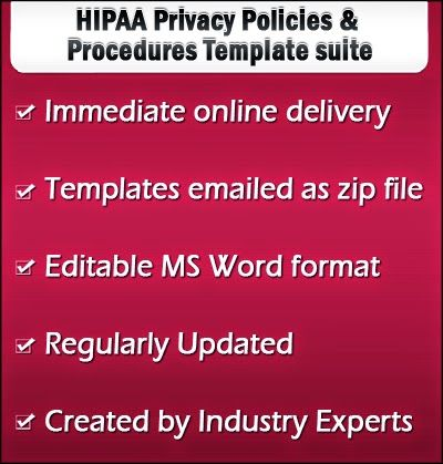 Are You Following HIPAA Privacy Policies Properly? HIPAA Privacy - policy and procedure template
