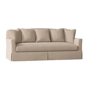 Fairchild Slipcovered Sofa In 2020 Slipcovers Sofa Pillow Fabric