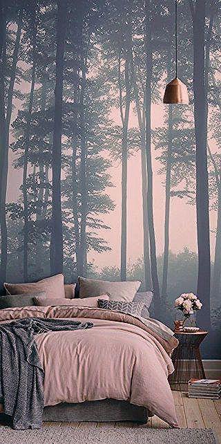 Schlafzimmer Ideen Wandgestaltung Fototapete Schlafzimmer