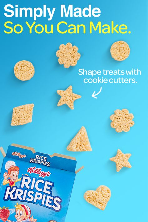 Rice Krispies were made to make learning delicious. What will you make?