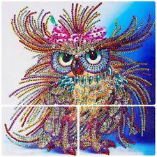5 D DIY Diamond Painting Animal Owl Special Shaped Handicraft Hot Selling Needlework Mosaic DIY Rhinestones Picture Diy kit