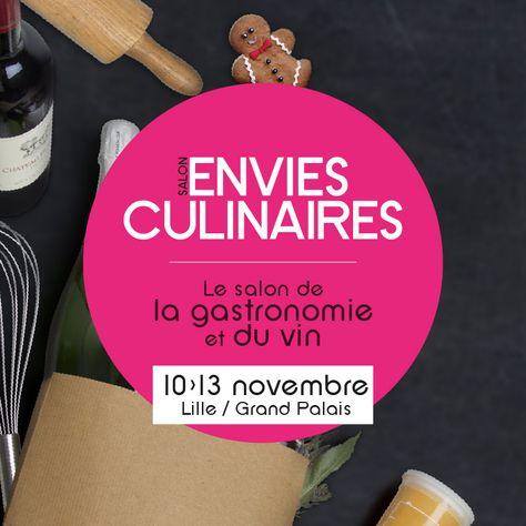 En parallèle du salon Amenago, vous pouviez retrouver le salon de la gastronomie Envies Culinaires pour une nouvelle édition !