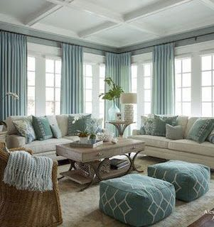 Coastal Decorating Living Room, Living Room Styles