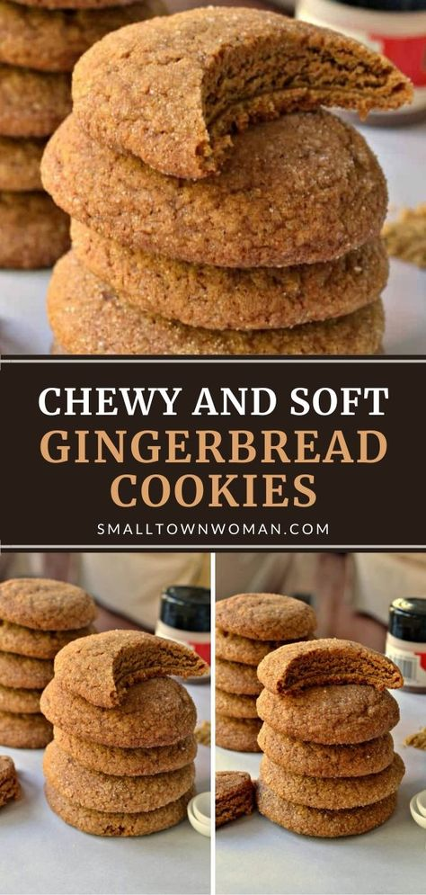 Paula Deen, Sugarfree Cake, Easy Cookie Recipes, Dessert Recipes, Fall Desserts, Macarons, Soft Ginger Cookies, Chewy Gingerbread Cookies, Low Carb Dessert
