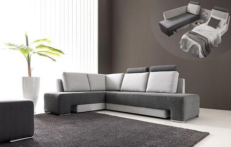 Cleo unisce tutto in uno le comodità di un divano angolare quelle