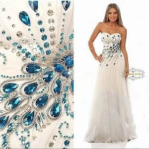 Peacock Wedding Gowns On Pinterest