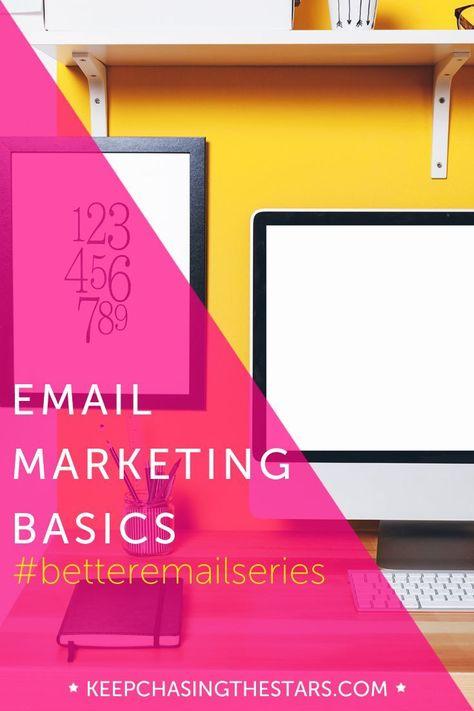 Email Marketing Basics - Monique Malcolm