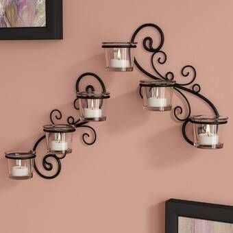Ciceklik Image By Funda Saatcilar In 2020 Candle Wall Sconces Decorative Wall Sconces Glass Wall Sconce