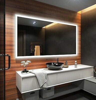 Specchio Su Misura Prezzo.Controluce Led Specchio Su Misura Illuminazione Sala Da Bagno L01