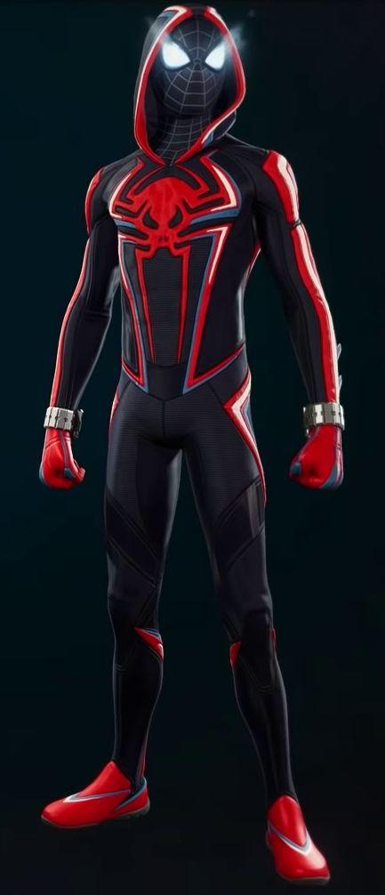 Miles Morales 2099 suit