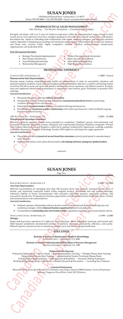 Winning Sales Resume Examples Resume Sample For A Sales Executive - food sales representative sample resume