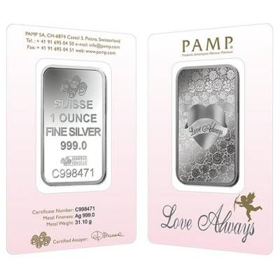 1 Oz Pamp Suisse Silver Bar Love Always In Assay 999 Fine Https Bullionexchanges Com 1 Oz Pamp Suisse Silver Bar Love Alw Silver Bars Silver Love Always