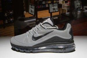 Compositor Corrección Vibrar  Mens Shoes Nike Air Max 2018 Elite KPU Black Grey | Mens nike shoes,  Running shoes for men, Nike air max