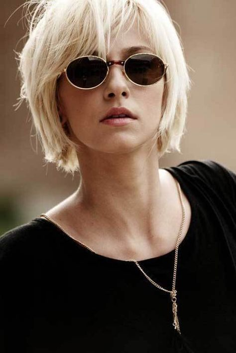 Shaggy-Hairstyle Best Pics of Layered Short Hair for Round Face