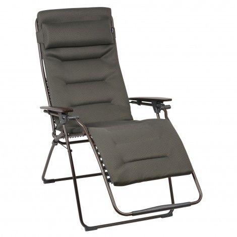 Lafuma De Wit.Lafuma Futura Air Comfort Xl Relaxstoel Taupe De Wit