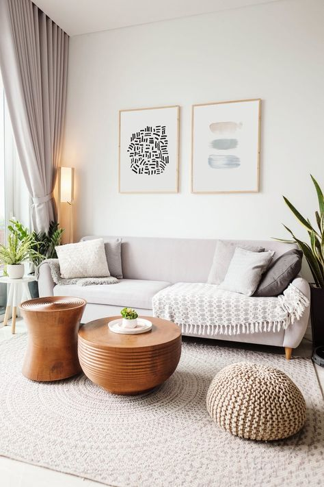 Scandinavian Home Decor, Nordic Style, Living Room, Ideas, Wall Art Summer Deco, Rugs In Living Room, Home And Living, Room Rugs, Earthy Living Room, Neutral Living Room Sofas, Casual Coastal Living Room, Living Room Decor With Plants, Living Room Wall Decor Ideas Above Couch