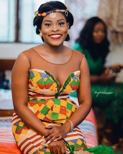📸 Kwasi Asante Agyapong sur Instagram: Nana Esi Ahourfer ❤️❤️❤️ . . Nene 💍 Nana . . Decor || @smartdecor_gh Photo | @kingkwekuananse_photography @nanayaw_mfoni MUA |…